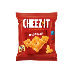 Cheez It Crackers (60- 1.5oz packages)