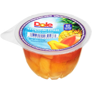 DOLE-Individual Tropical Fruit Cups (36-4oz cups)