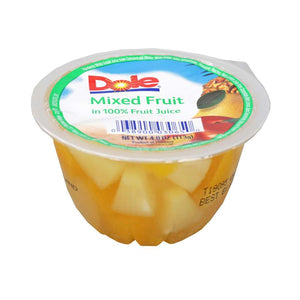 DOLE-Individual Mixed Fruit Cups (36-4oz cups)