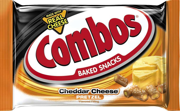 Combos- Cheddar Cheese (18-1.8 oz bags)