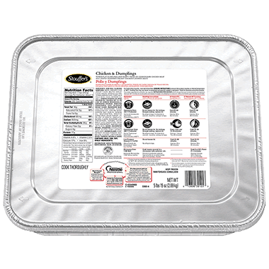 Stouffer Chicken & Dumplings Entrée (95 ounce)