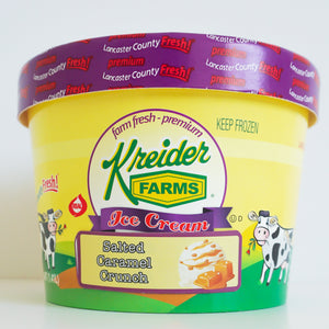 Salted Caramel Crunch Ice Cream Farm Fresh (1.5 quart)