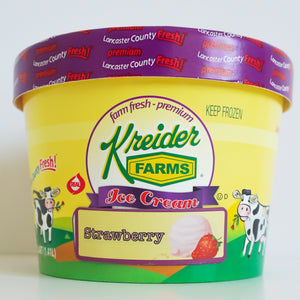 Strawberry Ice Cream Farm Fresh (1.5 quart)