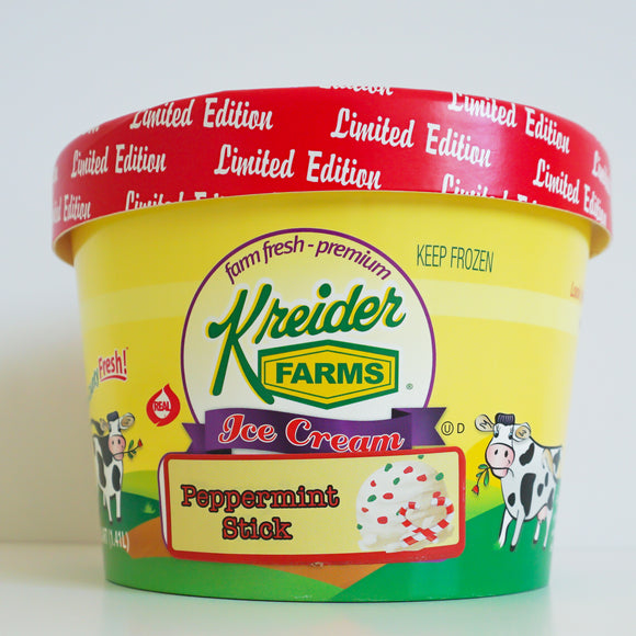Peppermint Stick Ice Cream Farm Fresh (1.5 quart)