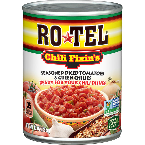 28 oz can of Rotel diced tomatoes and green chiles