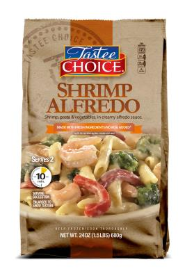 Shrimp Alfredo Meal