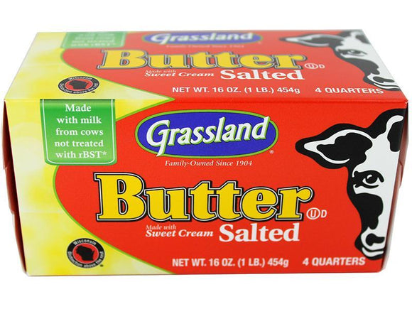Salted Butter Pound (quarters, 1 pound)