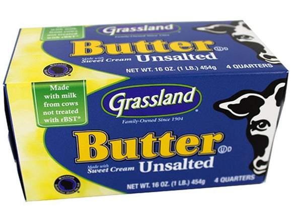 Unsalted Butter (solid, 1 pound)
