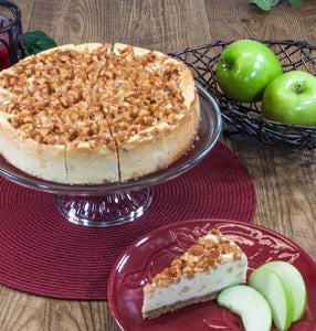 Caramel Apple Cheesecake, Sliced (16 pieces)