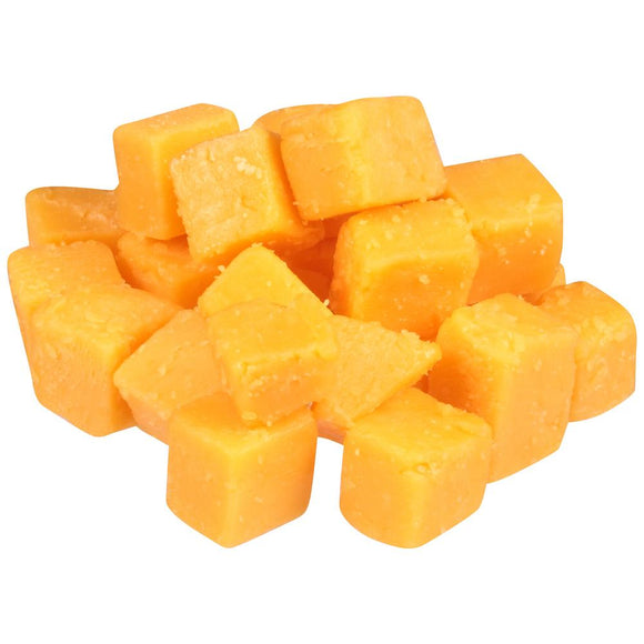 Cheddar Cheese Cubes (5 pounds)