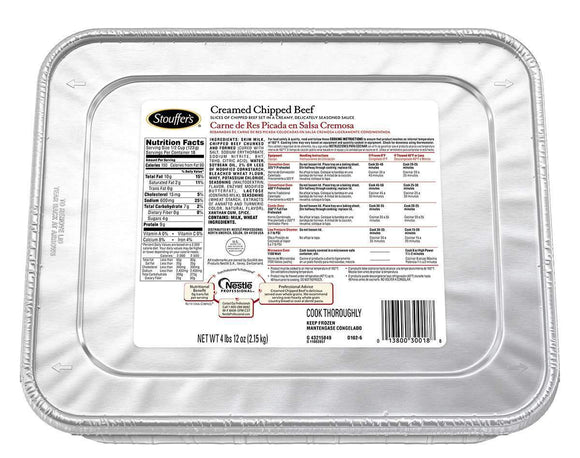 Stouffers Creamed Chipped Beef (76 ounce)