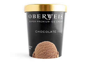 Oberweis Chocolate Ice Cream (pint)