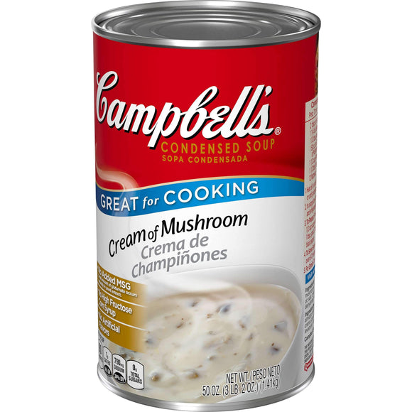 Campbells Cream of Mushroom Soup (50 ounce can)
