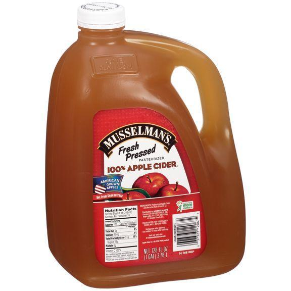 Pressed Apple Cider, 1 Gallon