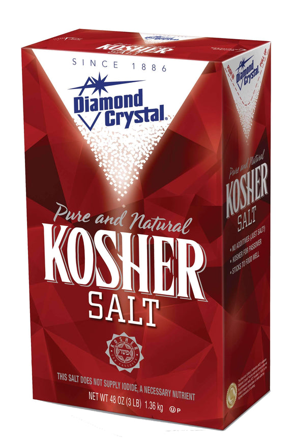 Coarse Kosher Salt (3lb)