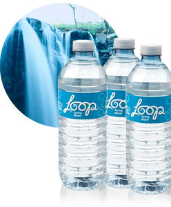 Loop Spring Water-Recycled Bottle (24-16.9oz)