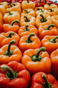 Orange Bell Peppers 3 Ct