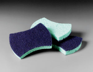 Blue Power Scrubbing Pad with Sponge (20 count)