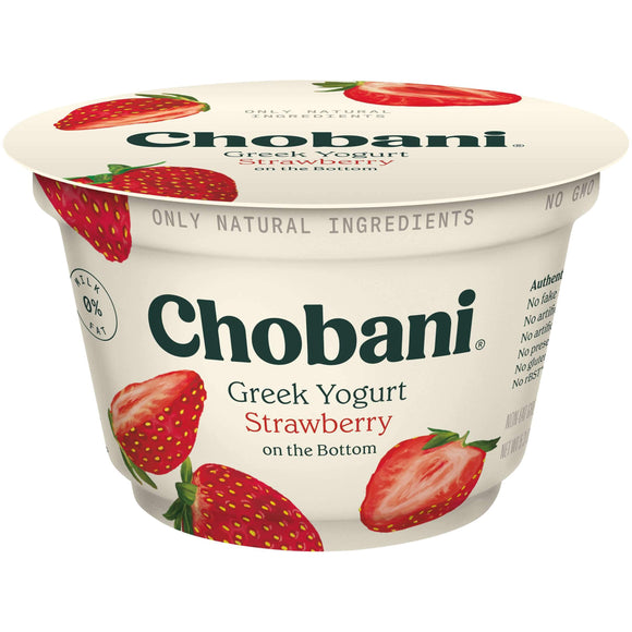 Strawberry Nonfat Greek Yogurt Cups (12 count)