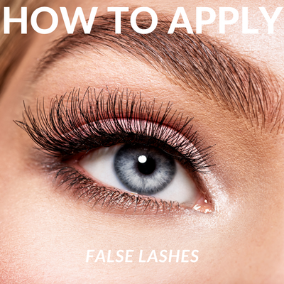 How to apply lashes