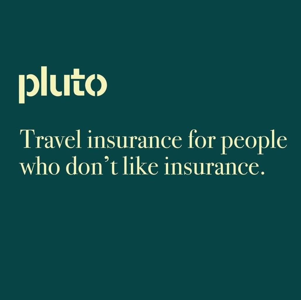 What travel insurance should I use? Check out our Savvy partnership with Pluto Insure