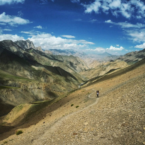 Hiking through the Indian Himalayas with a Savvy Travel Pack