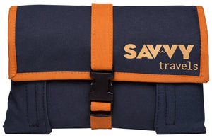 Closed Front of the Kilimanjaro Savvy Travel Pack