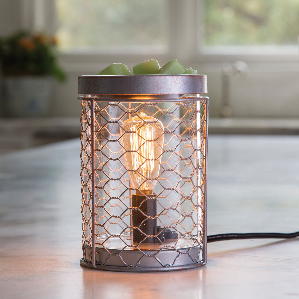 Candle Warmers Etc Chicken Wire Electric Wax Warmer