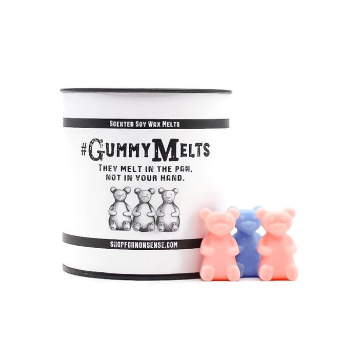 #CantAdultToday GummyMelts • Lemon + Lime + Orange