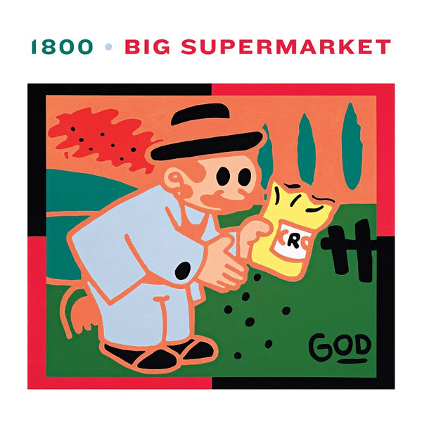 Big Supermarket - 1800 - LP Green Vinyl