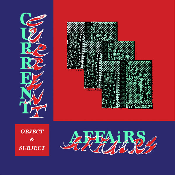 Current Affairs - Object & Subject - Black Grape Vinyl