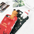Christmas Snowman Elk & Snowman Iphone Case