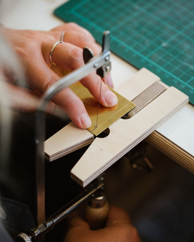 New Workshop! Brass Pin Badge Making
