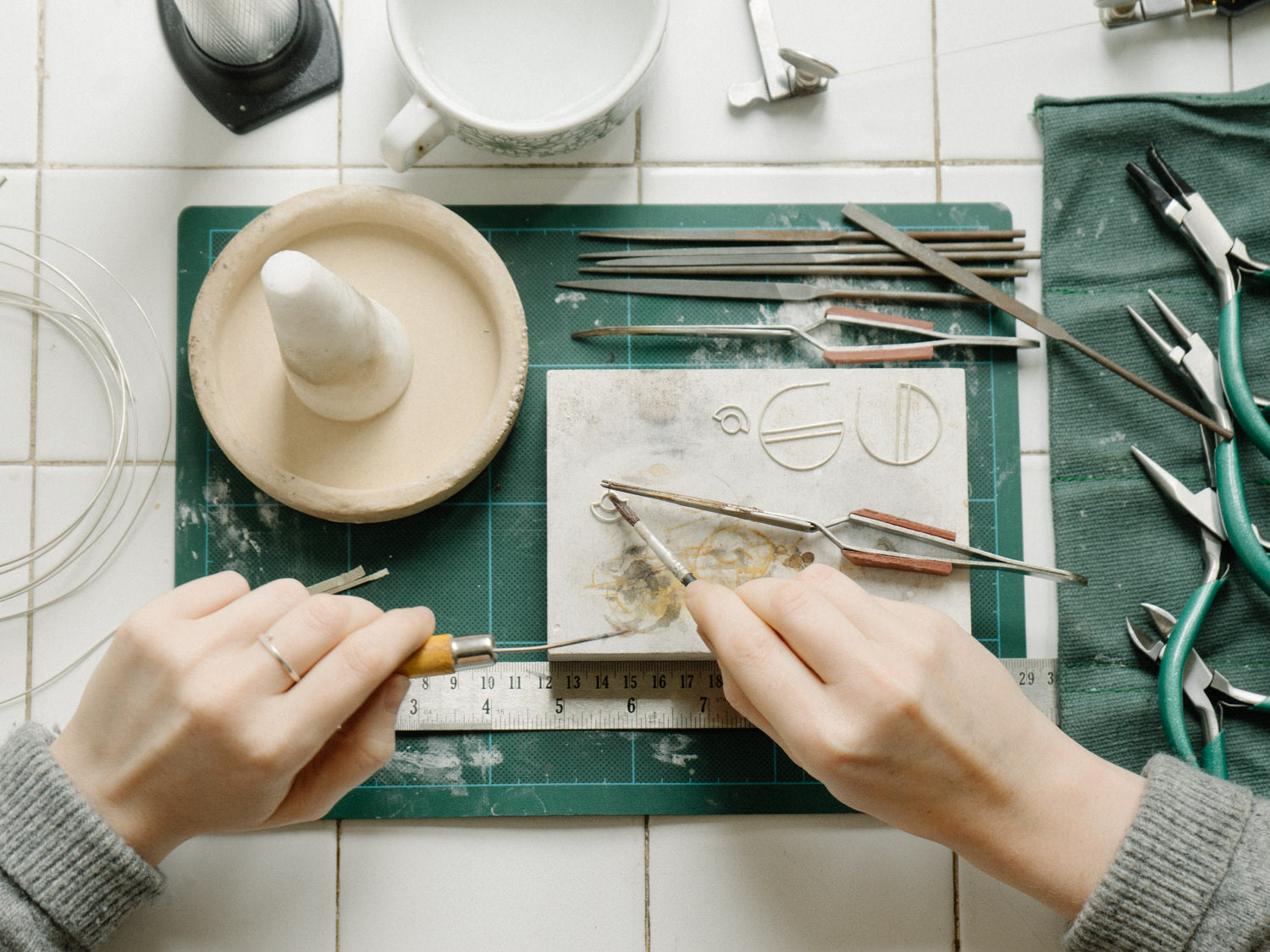 DIY silversmithing tool checklist for less than £200