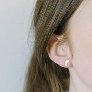 Arc Off Cut Earrings