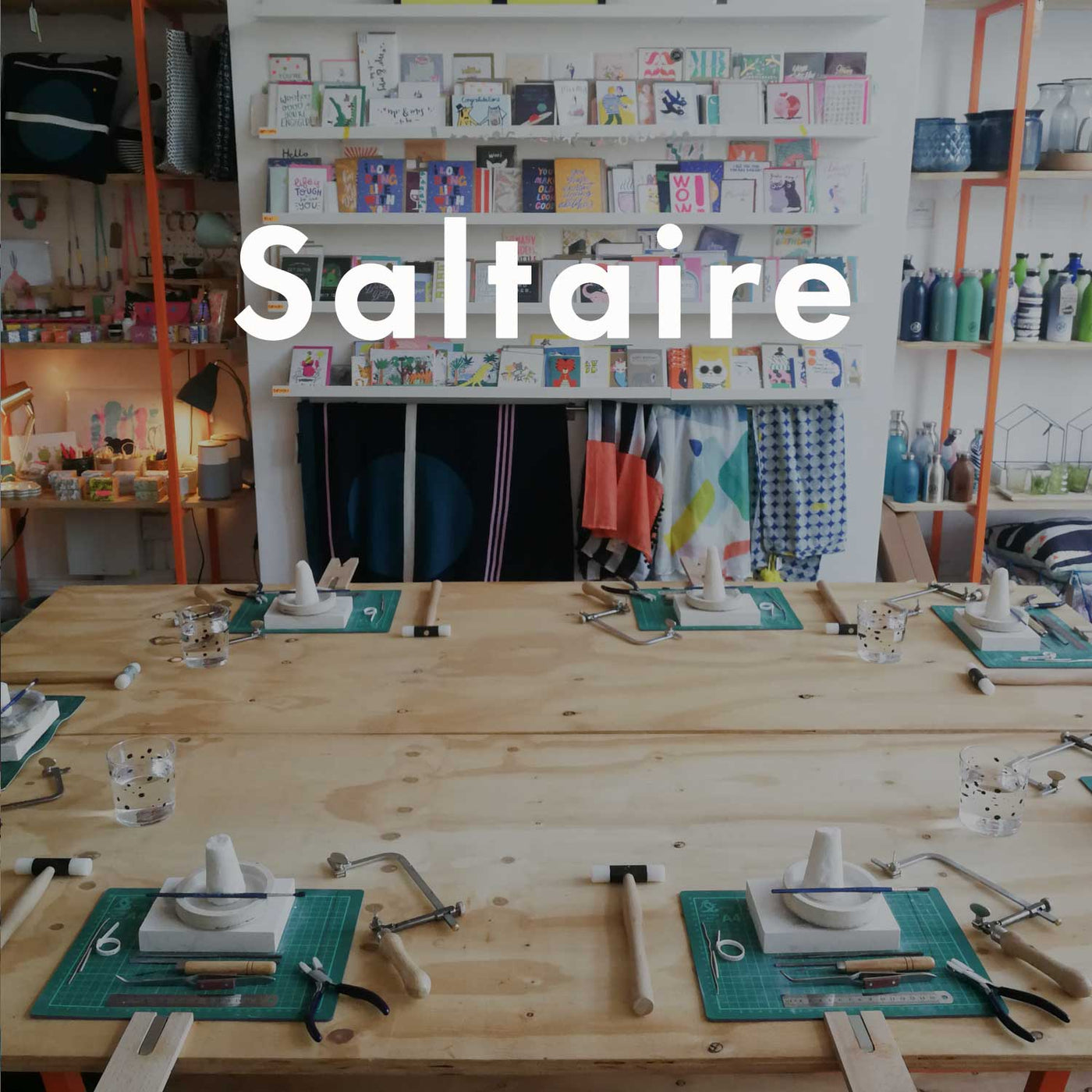 SALTAIRE 'Dot Ring' Workshop