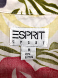 Esprit Sport Sleeveless Button Up (M)