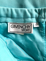Bright Aqua Givenchy Sport Skirt (Size 8)