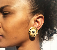 Star Coin Earrings