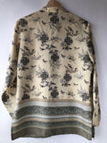 Anna and Frank Silk Asian Style Blouse (S)