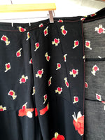 Rose Thai Wrap Pants (S/M)