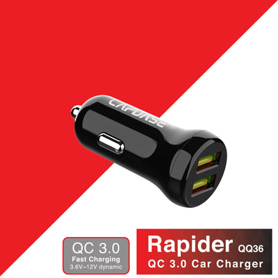 Rapider QQ36 QC 3.0 Car Charger