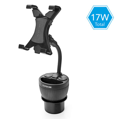 POWERCUP MAX Car Cup Holder Charger with TAB-X Mount
