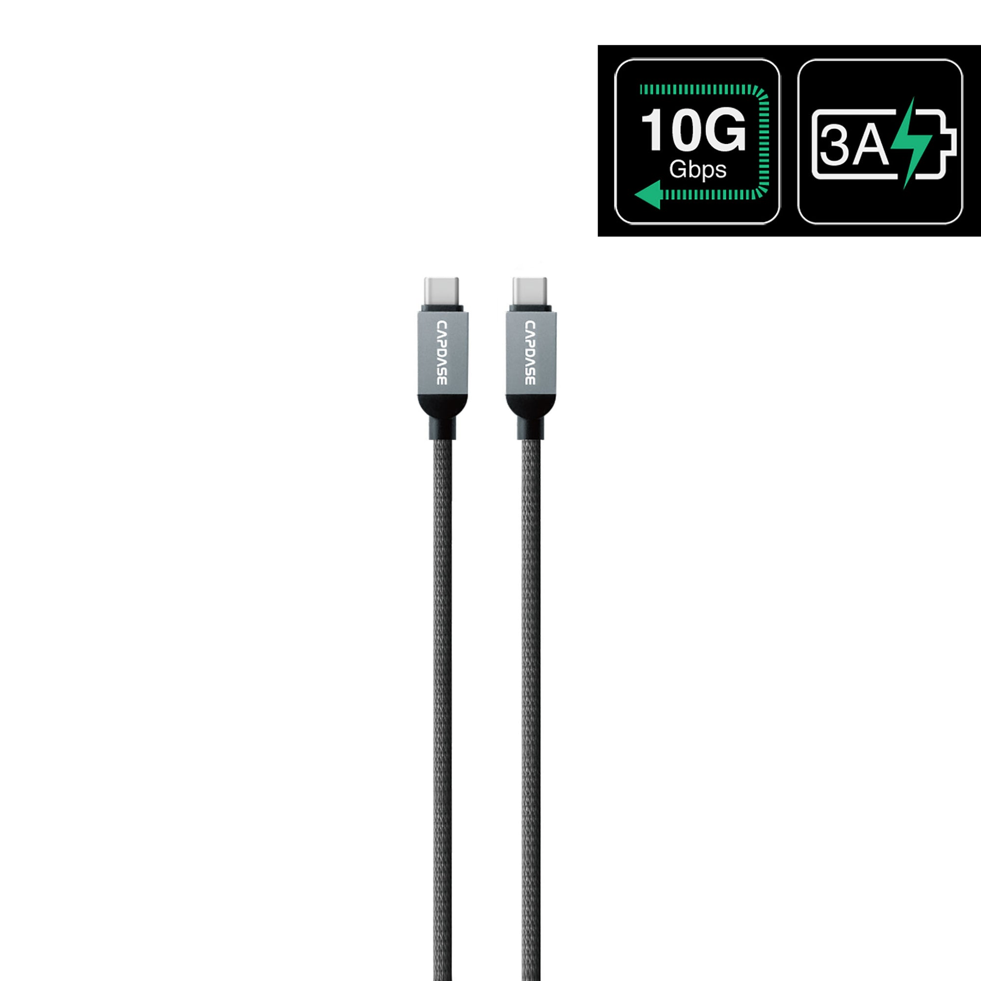 METALLIC CC10G USB-C To USB-C Sync and Charge Cable 1M (10 Gbps)