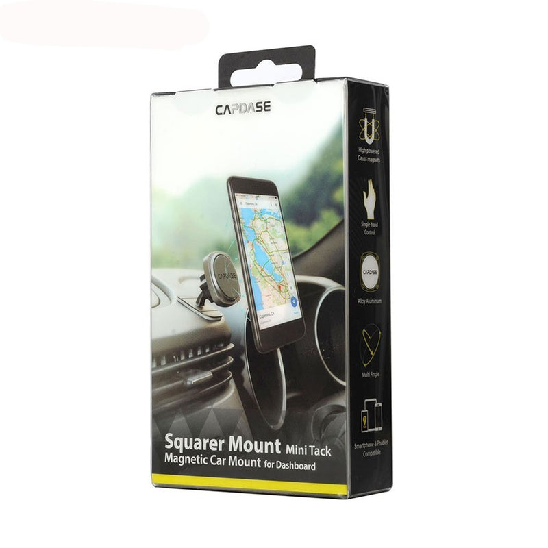 Squarer Magnetic Car Mount Mini Tack Capdase