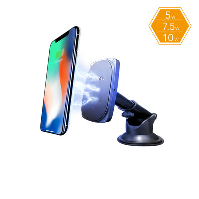 SQ POWER Fast Wireless Charging Magnetic Mount Telescopic Arm