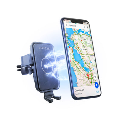 ROADER II Fast Wireless Car Charging Mount Gooseneck Arm