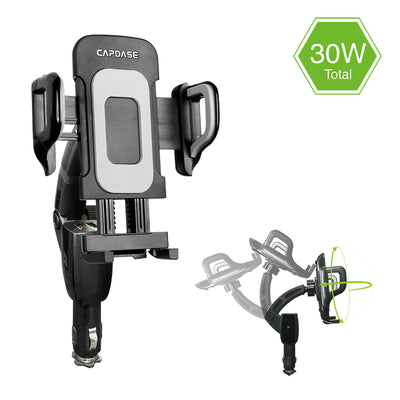 FLEXI-CHARGING ARM F30 QC 3.0 Car Charger Mount