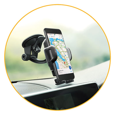 FLEXI II Sport Car Mount Flip Mini Arm