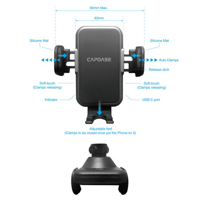 COBOT II Smart Car Mount Gooseneck Arm 300mm